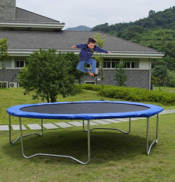 Trampolino elastico 366 cm giochi gonfiabili e playground for Arredamento ludoteca usato