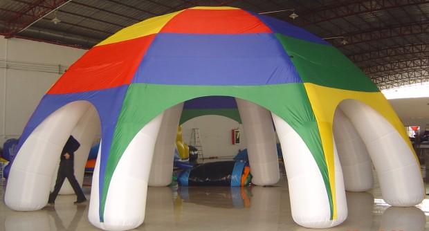 Gazebo gonfiabile 6x6 giochi gonfiabili e playground for Arredamento ludoteca prezzi
