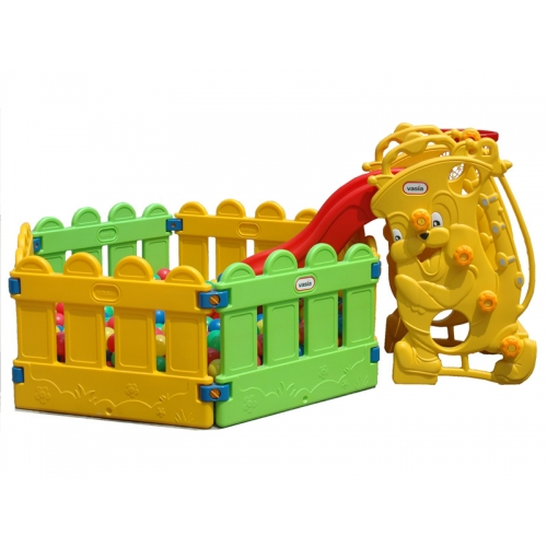 Piscina e scivolo giochi gonfiabili e playground for Playground usati