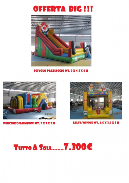 "Offer Package Inflatable ""Big"""