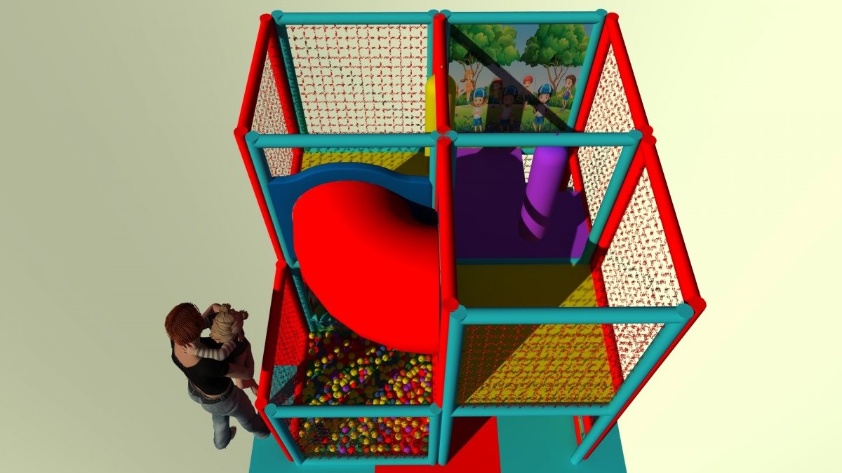 Playblock 41 mt 2,60x2,60x2,50h