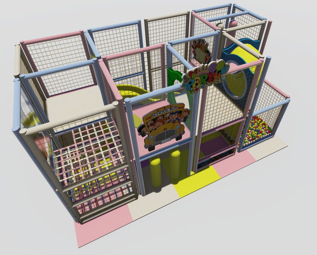 Playblock 68 mt: 5x2,60x2,50h